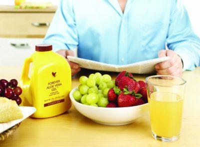 Essen und Trinken mit Aloe Vera Rezepten