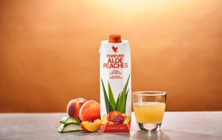 Aloe Vera Gel Peach